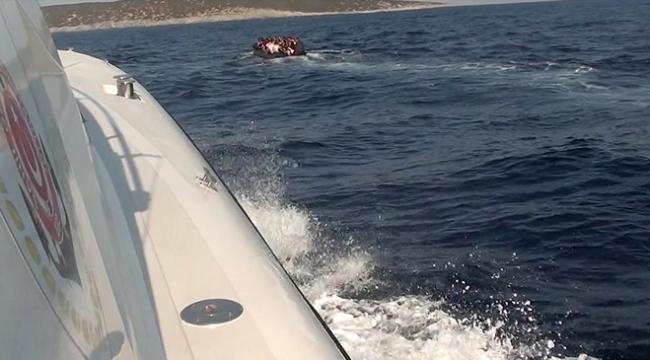Ege Denizinde bir haftada 420 kaçak göçmen yakalandı