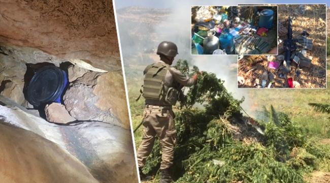 Diyarbakırda PKKnın 4 sığınağı imha edildi
