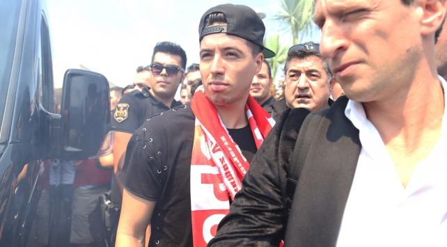Antalyasporun yeni yıldızı Nasri Antalyada