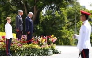 Başbakan Binali Yıldırım Singapurda