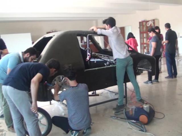 Öğrenciler yarış otomobili tasarladı