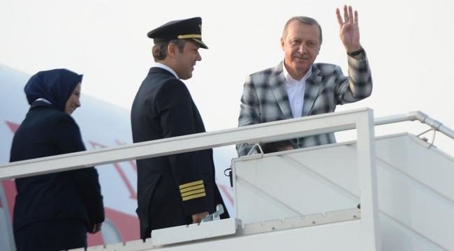 Cumhurbaşkanı Erdoğan Ürdün temaslarını tamamladı