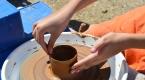 Antik çağda kullanılan kilden seramik yapımını öğrendiler