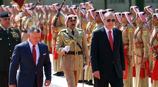 Ürdün basınından Cumhurbaşkanı Erdoğanın ziyaretine yoğun ilgi