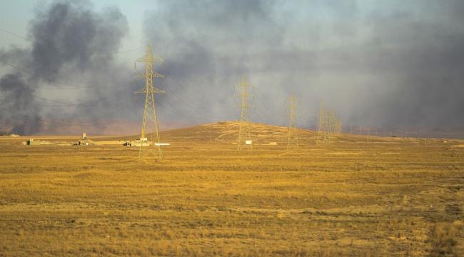 Irak güçleri ilk kez Telafere bağlı bir semti ele geçirdi