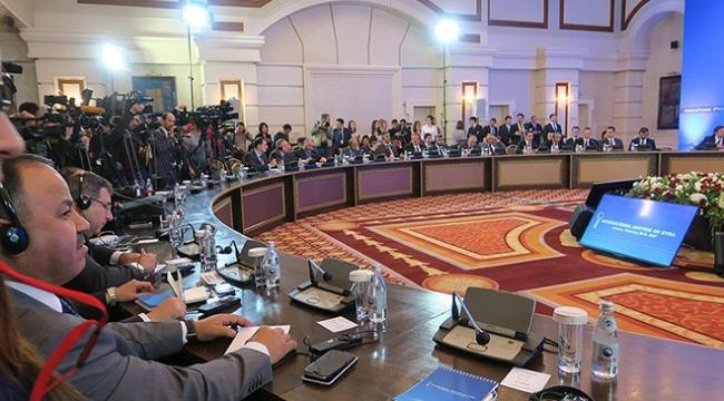 Astanadaki Suriye toplantısı ertelendi