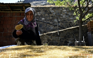 Türkiyenin pestil ve kömesi Gümüşhaneden