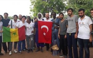 TİKAnın gönüllü elçileri Senegaldeki çalışmalarına başladı