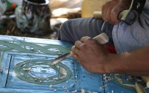 Hurda malzemelerden sanat eseri