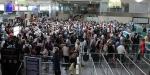 Atatürk Havalimanında yolcu yoğunluğu