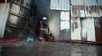 Şişlide kurbanlık barınağında yangın