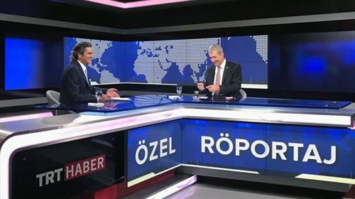 Sağlık Bakanı Ahmet Demircan, TRT Haberin özel yayın konuğu oldu