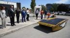 İTÜ güneş arabası ekibi TİKAda