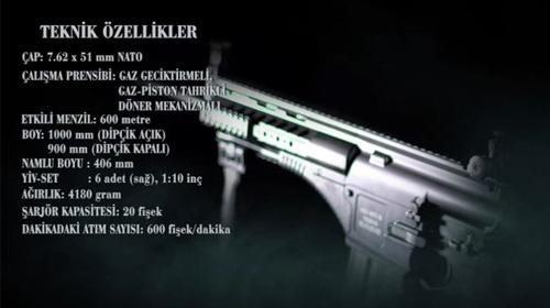 58 testi başarı ile geçen dünyadaki tek silah: Milli piyade tüfeği MPT-76