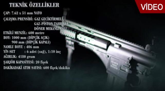 58 testi başarı ile geçen dünyadaki tek silah MPT-76