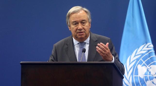 BM Genel Sekreteri Guterres: İki devlet çözümünden başka bir seçenek yok