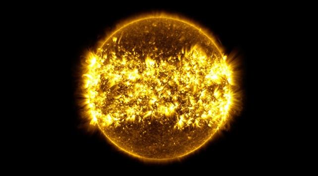 NASA açıkladı! Güneşte 2 büyük patlama