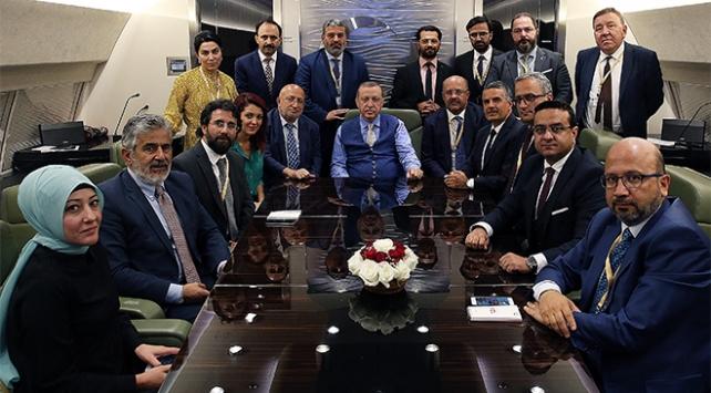 Cumhurbaşkanı Erdoğan Kazakistan dönüşü açıklamalarda bulundu