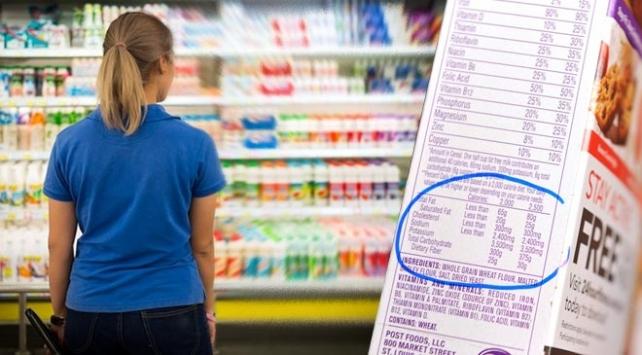 Gıda etiketlerinde gizlenen tehlikelere dikkat