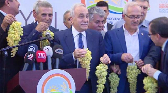 Bakan Fakıbaba: Ayran kadar üzüm suyu da milli içeceğimizdir.