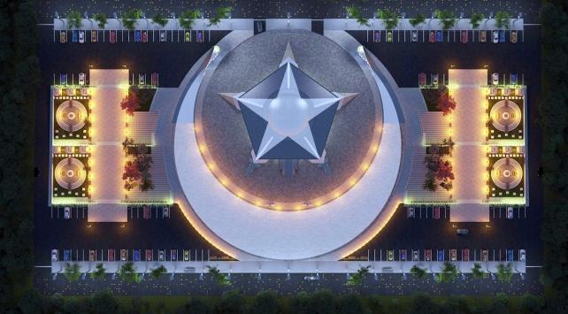 Türkiyenin ilk Ayyıldızlı Camisi yapılıyor