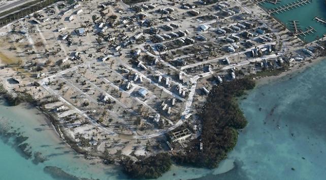 Irma kasırgasında evlerin yüzde 90ı yıkıldı