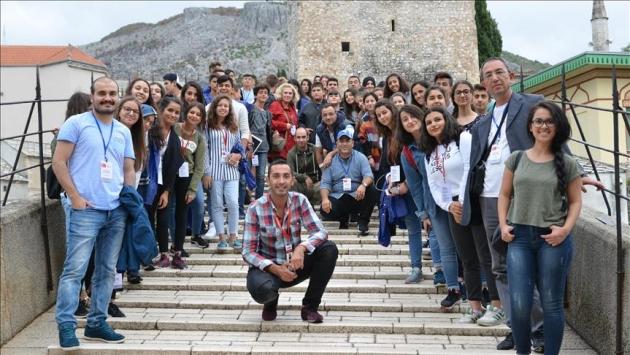 TEOGda başarılı olan öğrencilere Bosna Hersek gezisi