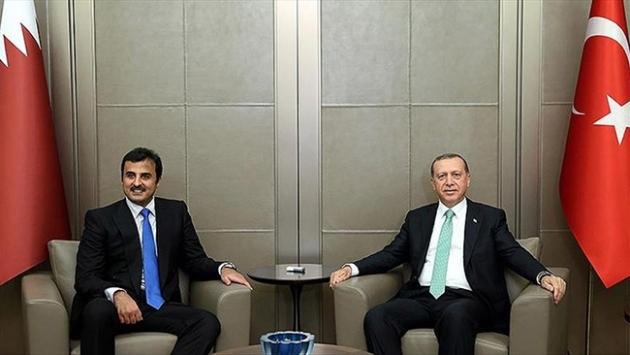 Katar Emiri Al Sani Türkiyeye gelecek