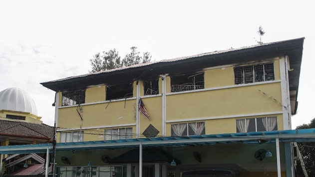 Malezyada yangın: 24 ölü