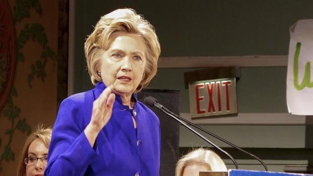 Clintondan Trumpa eleştiri