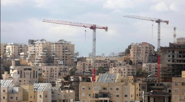 İsrailden bin 400 yeni konutun inşa edilmesine onay