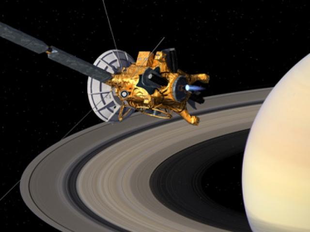 Satürndeki tek uzay aracı Cassininin sonu
