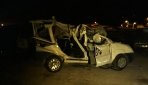 Ankarada düğün dönüşü feci kaza