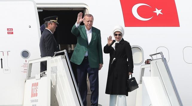 Cumhurbaşkanı Erdoğan, ABDye gitti