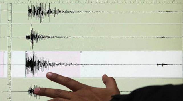 Ege Denizinde 4,4 büyüklüğünde deprem