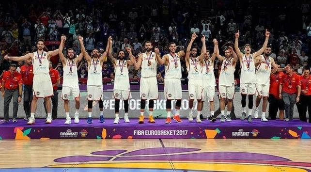İspanya, Rusyayı 93-85 yenerek bronz madalyanın sahibi oldu