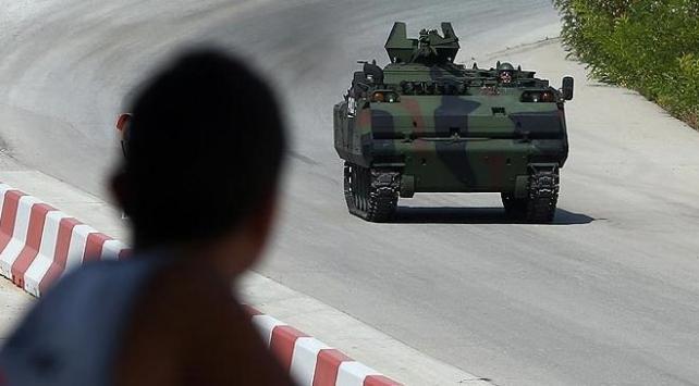 Askeri kara aracı modelleri yarıştı