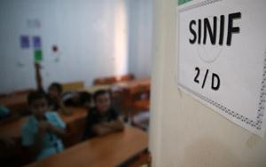Suriyeli öğrenciler de ders başı yaptı
