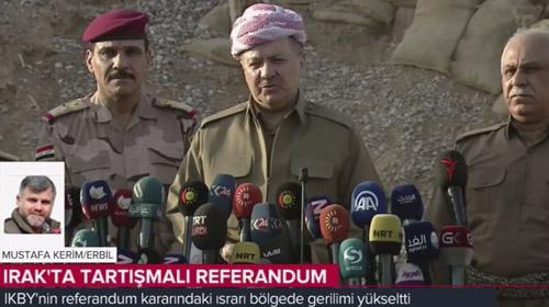 Iraktaki tartışmalı referanduma dair son gelişmeler