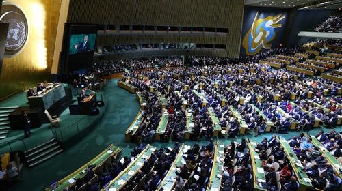 BM Genel Kurulunda bölgesel ve küresel konular gündemdeydi