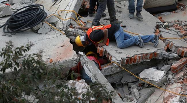Türkiyeden deprem felaketi yaşayan Meksikaya destek