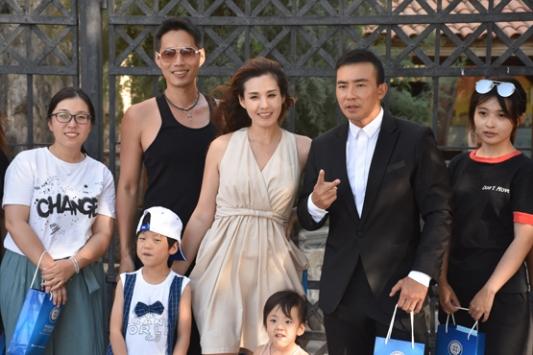 Çinli televizyon yıldızı Bodrumda