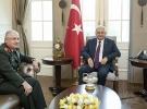 Başbakan Yıldırım, Hava Kuvvetleri Komutanı Küçükakyüz'ü kabul etti