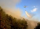 Mersin'de orman yangını çıktı