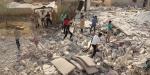 Esed güçleri İdlibe hava saldırılarını sürüyor