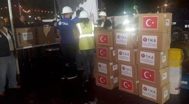 TİKAdan Meksikadaki depremzedelere yardım