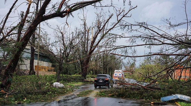 Dominikadaki Maria Kasırgasında 15ten fazla kişi hayatını kaybetti