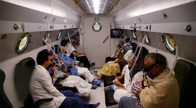 Kapanmayan yaralara çare: Hiperbarik oksijen tedavisi