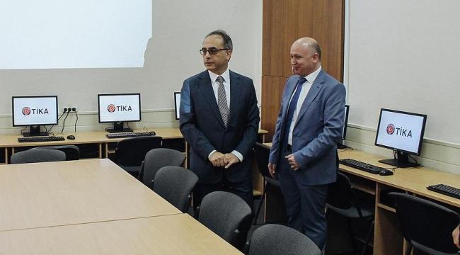 TİKAdan Ukraynaya eğitim desteği
