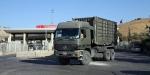 Cilvegözü Sınır Kapısında askeri araç yoğunluğu